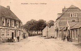 MALDEGEM  Pont De Paille  Stroobrugge Animée Café Au Pavillon Roijal Circulé En 1925 - Maldegem