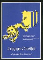AK Leipzig, In Leipzig Ist Der Löwe Los!, Stadtfest 1939, Wappen - Leipzig