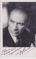 Cpa (photo)-spect.-cinéma-aimé Clariond--acteur Francais-avec Dedicace-photo M. Soulie - Attori
