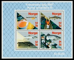 NORWEGEN Block 8 Postfrisch S018DBE - Blocks & Kleinbögen