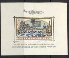 Czechoslovakia 1962 Praga Stamp Ex (hinge Thin) MS MLH - Dictionaries