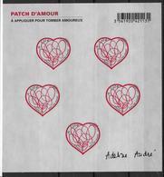 France 2012 Bloc Feuillet N° F4632 Neuf Saint Valentin Angélique André à La Faciale - Sheetlets