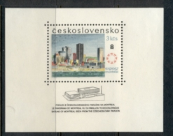 Czechoslovakia 1967 Montreal Expo MS MUH - Dictionaries