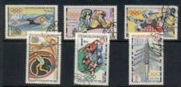 Czechoslovakia 1964 Summer Olympics Tokyo CTO - Dictionnaires