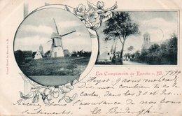 Les Compliments De KNOCKE Circulé En 1899 - Knokke