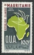 1966Mauritania27615th Anniversary Of O.U.A. - Mauritania (1960-...)