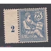 TIMBRE TYPE MOUCHON N° 127 ANNEE 1902 NEUF** Signé Côte 500 Euros - Neufs