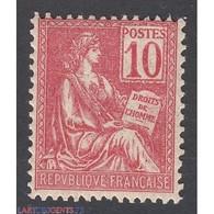 TIMBRE TYPE MOUCHON N° 112 ANNEE 1900  NEUF**   Côte 95 Euros - Francia