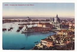 Venezia (Venedig) - Dal Campanile Di San Marco - Basilica Della Salute - Venezia