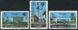Turkey 1966  - Mi. 2020-22 O, 33rd Congress Int. Fairs Union Congress - 1921-... République
