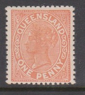 Australia-Queensland  ASC 28 1894 One Penny  Thick Paper,mint Never Hinged - 1860-1909 Queensland