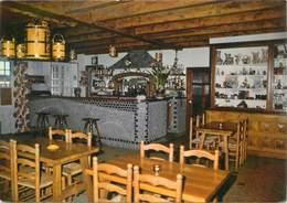 "CPSM FRANCE 48 ""Nasbinals, Hotel Restaurant Du Pont De Gournier"" - Francia"