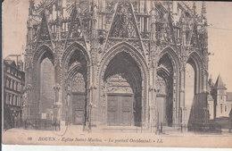 Rouen - Église Saint Maclou, Le Portail Occidental - Rouen