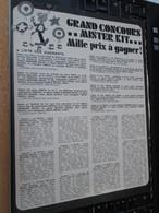 SPI2020 2 Pages Issues De SPIROU BELGE Années 70 / MISTER KIT Présente : GRAND CONCOURS MISTER KIT - Revues