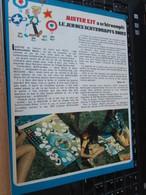 SPI2020 Page Issue De SPIROU BELGE Années 70 / MISTER KIT Présente : LE JEU DES SCHTROUMPFS NOIRS - Revues