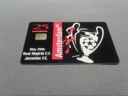 Netherlands - Rare Arena Card Real Madrid - Pays-Bas