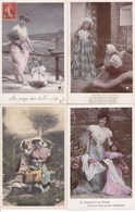 LOT/135....50 CPA FANTAISIES - 5 - 99 Postkaarten