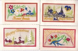 LOT/137....4 CPA BRODEES - 5 - 99 Postkaarten