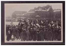 Dt.-Reich (009061) Propaganda Sammelbild, Deutschland Erwacht, Bild 18, Standartenweihe Auf Dem Marsfeld In München 1923 - Alemania