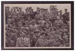 """DT- Reich (009062) Propaganda Sammelbild Deutschland Erwacht"""" Bild 187, SA SS Und Stahlhelm Besuchen Den Führer - Alemania"""