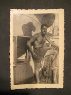 LOTTO LOT 13 FOTO UOMO HOMME MAN PETTO NUDO NUDE NAKED PAINTS COSTUME - Persone Anonimi