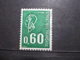 VEND BEAU TIMBRE DE FRANCE N° 1815a , XX !!! (o) - 1971-76 Maríanne De Béquet