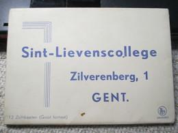 Gent Sint Lievenscollege 12 Zichtkaarten Compleet - Gent