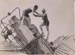 ON A SHIPWRECK 18*14CM Fonds Victor FORBIN 1864-1947 - Unclassified