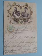 Csar NICOLAS II & Csarine > Souvenir De La Visite PARIS 1896 (N° 1153) Stamp 1897 > Molsheim Mutzig ( See Voir Photo ) ! - Familles Royales