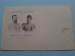 Csar NICOLAS II & Csarine > Souvenir De La Visite PARIS 1896 () Stamp 1896 > Nurenberg ( See Voir Photo ) ! - Familles Royales