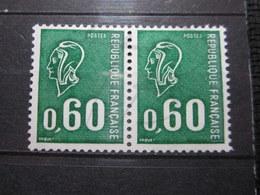 VEND BEAUX TIMBRES DE FRANCE N° 1815 EN PAIRE , XX !!! - 1971-76 Maríanne De Béquet