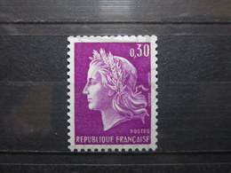 VEND BEAU TIMBRE DE FRANCE N° 1536b , XX !!! (b) - 1967-70 Marianne De Cheffer