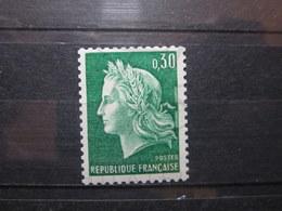 VEND BEAU TIMBRE DE FRANCE N° 1536Ab , XX !!! (b) - 1967-70 Maríanne De Cheffer