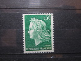 VEND BEAU TIMBRE DE FRANCE N° 1536Ab , XX !!! (b) - 1967-70 Marianne De Cheffer