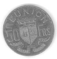 REUNION - 50 FRANCS 1962 - Réunion