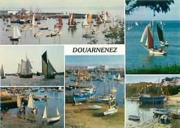 Douarnenez - Grand Port De Peche - Vieux Greements Au Port Rhu   U 411 - Douarnenez