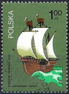 Poland 1974 - Mi 2317 - YT 2157 ( Sailing Ship, 16th Century ) - 1944-.... République