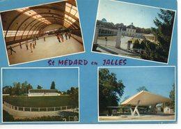 Saint-Médard-en-Jalles Multi-vues Animée La Patinoire Le Club Hippique Le Stade - Otros Municipios