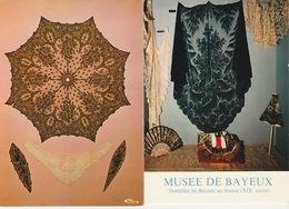 20 / 2 / 280  -  BAYEUX  ( 14 )   MUSÉE  BARON. GÉRARD  -  2. DENTELLES  - 2  C P M - Bayeux
