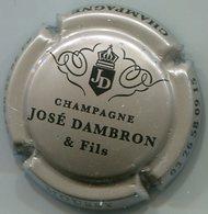 CAPSULE-CHAMPAGNE DAMBRON José N°05 Grège & Noir - Autres