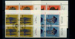 SCHWEIZ 1975 Nr 1053-1056 VB Satz Gestempelt (70751) - Schweiz