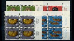 SCHWEIZ 1973 Nr 996-999 VB Satz Gestempelt (70749) - Schweiz