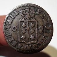 SUISSE VALAIS 1/2 BATZEN 1702 FRANCOIS-JOSEPH SUPERSAXO. SITTEN. SWITZERLAND. - Svizzera