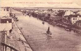 30 - LE GRAU DU ROI - Perspective Du Canal - Le Grau-du-Roi