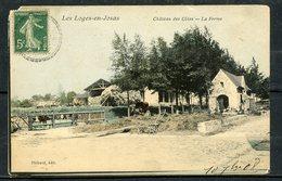 LES LOGES EN JOSAS - CHATEAU DES COTES - LA FERME - CPA COLORISEE. - Francia