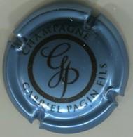 CAPSULE-CHAMPAGNE GABRIEL PAGIN FILS N°29i Bleu Métallisé Et Noir - Champagne