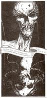 Illustration De Fernando Goncalves Pour Livre Etrange Septembre De Laurent Bramardi Et Michel Fralay - Egone - Estampes & Gravures