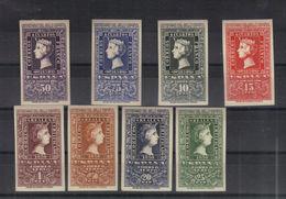 Espagne 1950 Yvert 802/05 + PA 242/45 Neufs** MNH (avec Certificat) - 1931-50 Nuevos & Fijasellos