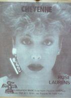 PARTITION-LAURENS ROSE-CHEYENNE-1983-69 - Musica & Strumenti