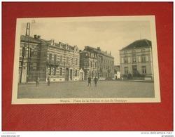 WAVRE  - Place De La Station Et Rue De Genappe -  1913 - Wavre